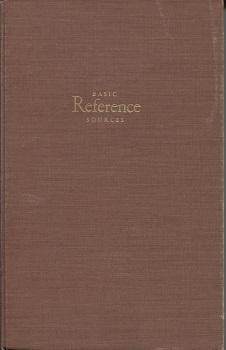 Image for Basic Reference Sources An Introduction to Materials and Methods