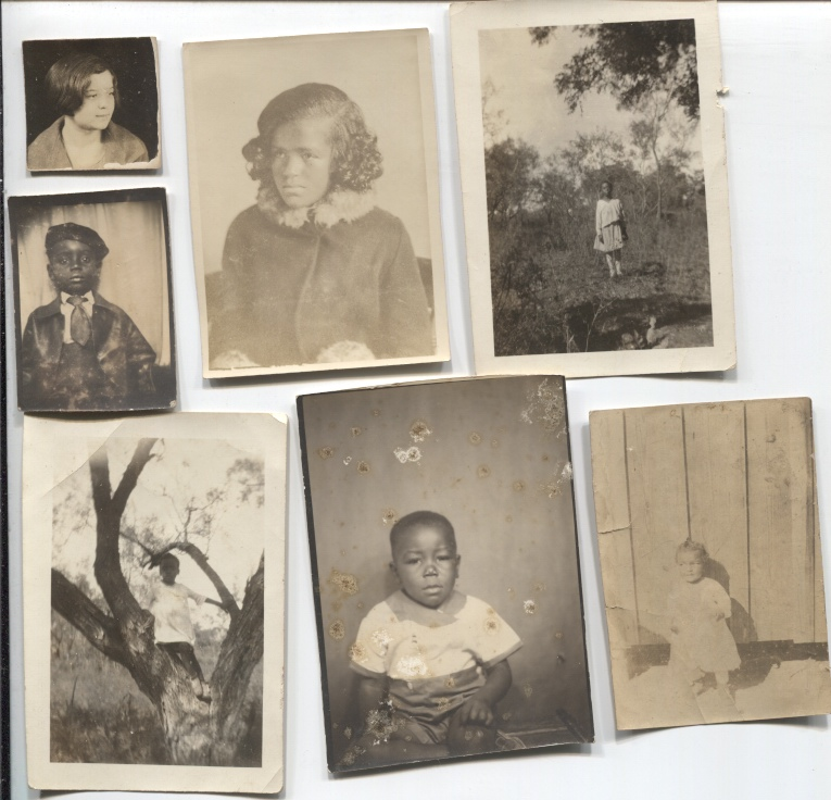 Image for Group Of Seven African American Children