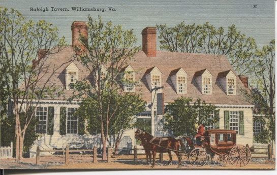 Image for Raleigh Tavern, Williamsburg, Virginia, Circa 1742