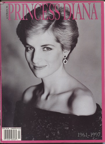 Image for A Tribute To Princess Diana, 1961-1997