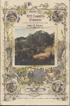 Image for Hill Country Almanac, Volume 1 No. 2 A Guide to Environmentally Sensitive Living