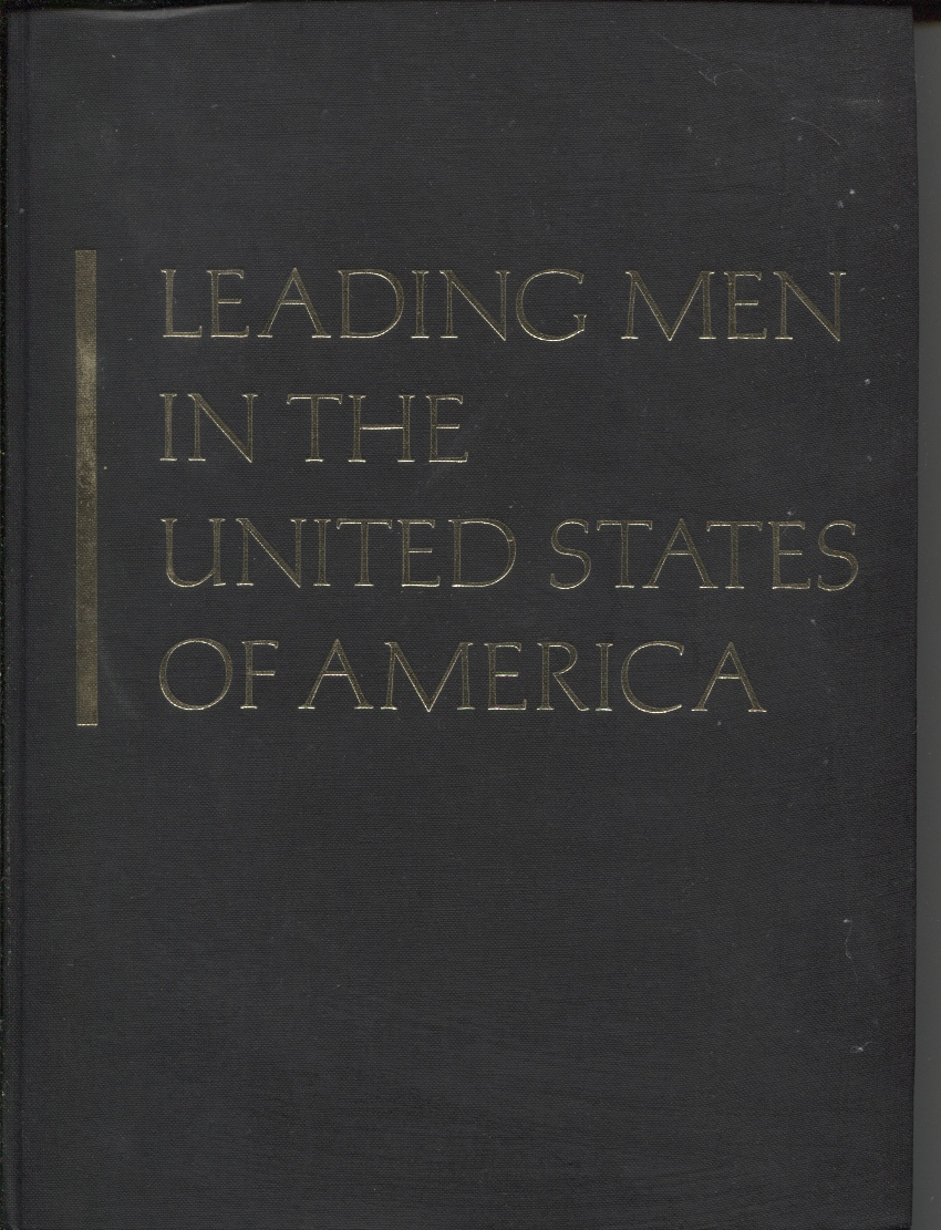 Image for Leading Men in the United States of America