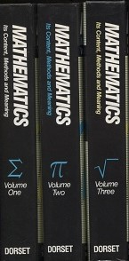 Image for Mathematics Its Content Methods & Meaning, 3 Volumes