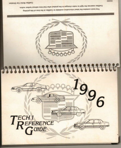 Image for Tech 1 [Cadillac] Reference Guide