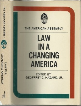 Image for Law In A Changing America