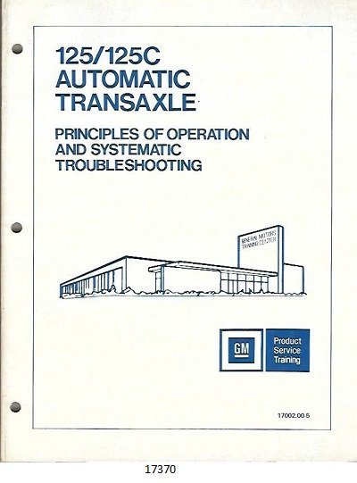 Image for 125/125c Automatic Transaxle Principles of Operation and Stystematic Troubleshooting, #17002.00-5