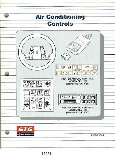 Image for Air Conditioning Controls, C67, C68 #11005.10-4