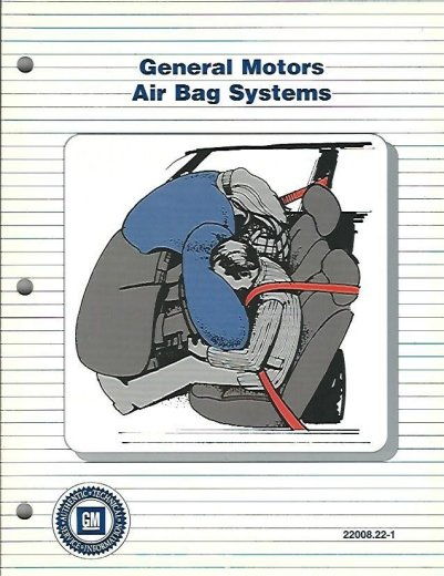 Image for General Motors Air Bag Systems #22008.22-1
