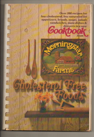 Image for Cholesterol Free Foods Cookbook From Morningstar Farms