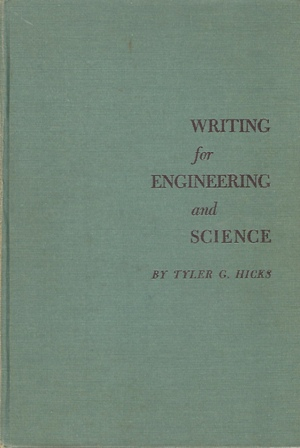 Image for WRITING FOR ENGINEERING AND SCIENCE
